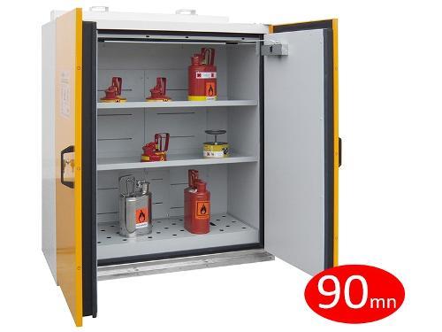 Armoire coupe-feu 90 mn - 2 portes - armoire basse -...
