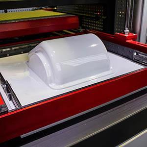 Оборудование для термоформования пластмасс