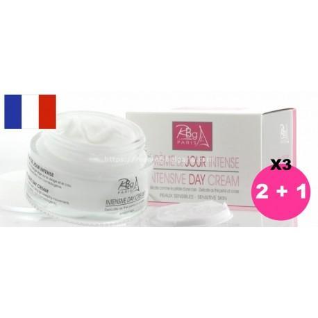 Crème de jour intensive Rbg Paris lot de 3
