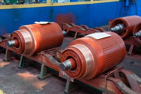 traction motor parts