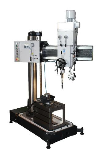 Radial-drilling machine