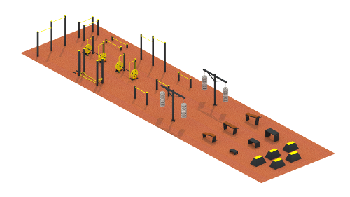Workout sports ground №5