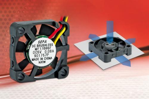 Innovative RaAxial fan complements the SEPA microfan series