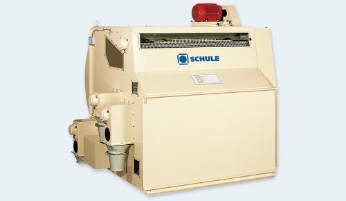 High-capacity closed circuit husk separator
