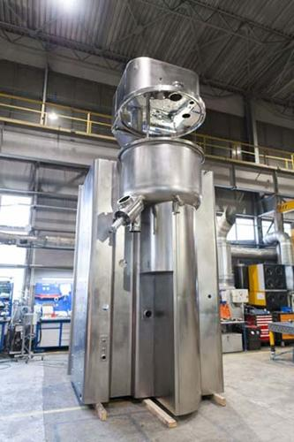 Custom fabrication of stainless steel products