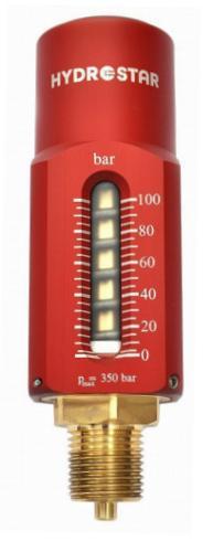 Piston-Spring Manometer TKF2020