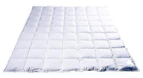 Одеяло пуховое кассетное