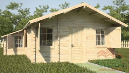 Cabaña madera