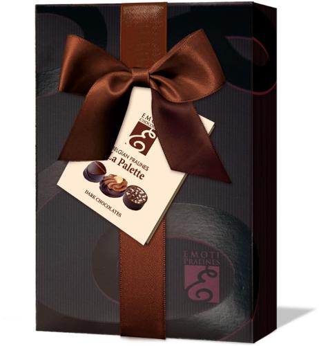 EMOTI Dark Chocolates, Gift packed, 120g. SKU: 012797b