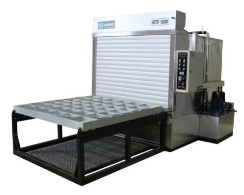 Front-loading industrial wash