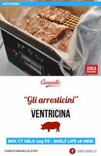 Arrosticini di ventricina