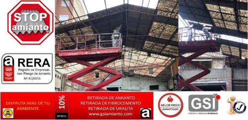 empresa retirada de fibrocemento en portugal