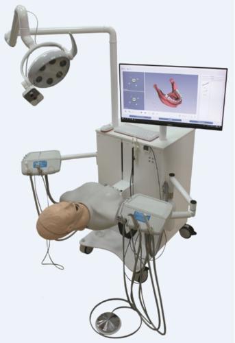 """جهاز محاكاة الهجين لطب الأسنان """"ليوناردو"""""""