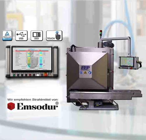 machine d'ébavurage cryogénique E40