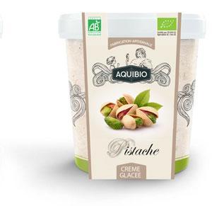 Crème glacée BIO pistache