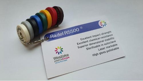 Radel R5500 PPSU polyfenylsulfoon van medische kwaliteit