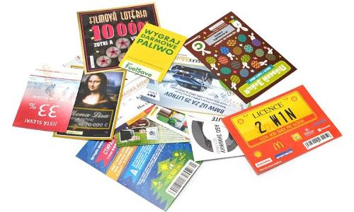 Game Cards / Scratch Cards