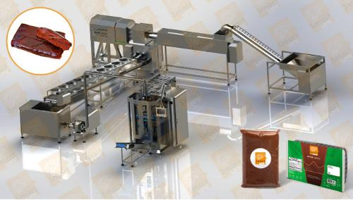 Dates Paste Production and Filling Line