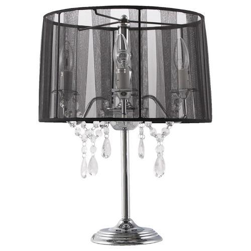 Lampe de table design BARGE en métal (noir)