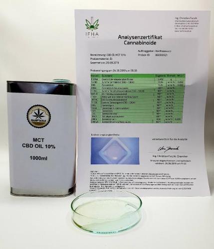 Olio di CBD MCT 15% 1 litro