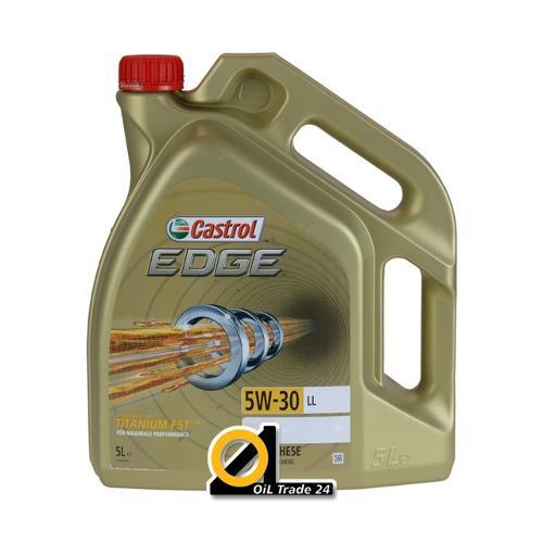 Castrol Edge 5W-30 LL in 5 litri.
