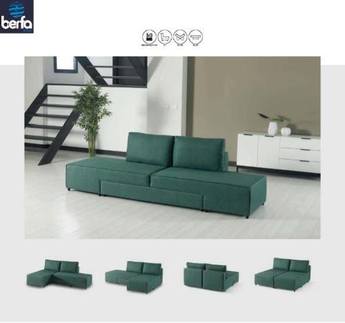 Hem möbler vardagsrum möbler tyg vikning