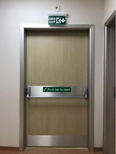 Laminated HPL Door