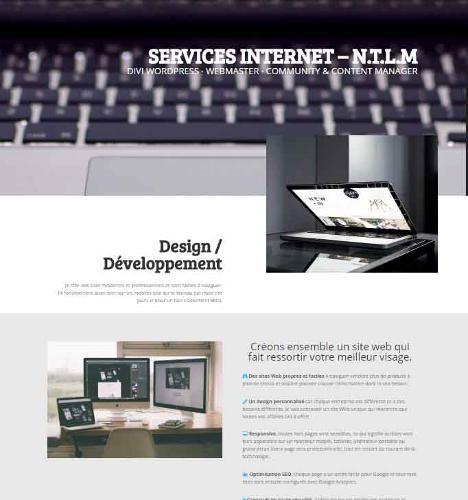 Design Developpement site internet