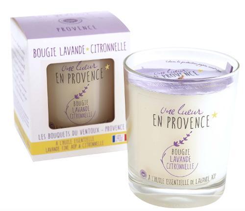 Bougie Lavande - Citronnelle
