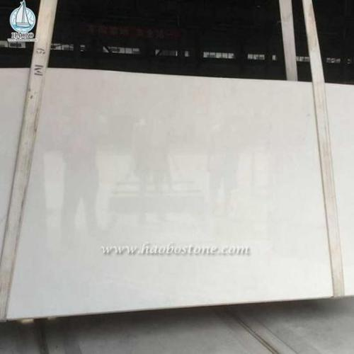 Pure White Marble Slabs Tiles