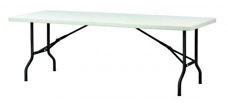 Table polypro 2.44 x 76 cm