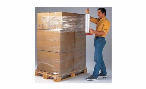 Rekfolieapparaten voor palletverpakkingen