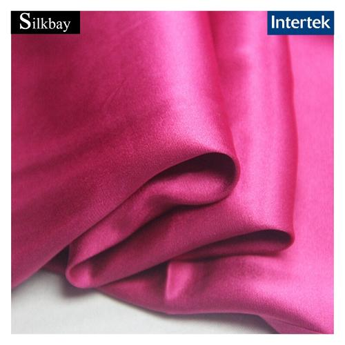 Double faces silk satin fabric