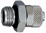 Straight screw-in fitting, with O-ring, G 3/8 o., for...