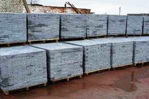 Paving stone from granite In STOCK