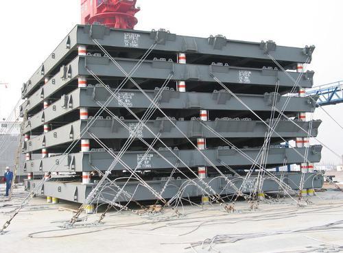 LADUNGSSICHERUNG für Schiffe, LkW und Container