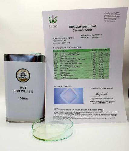 Olio di CBD MCT 10% 1 litro