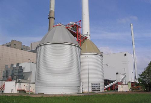 Industrial Bulk Material Storage