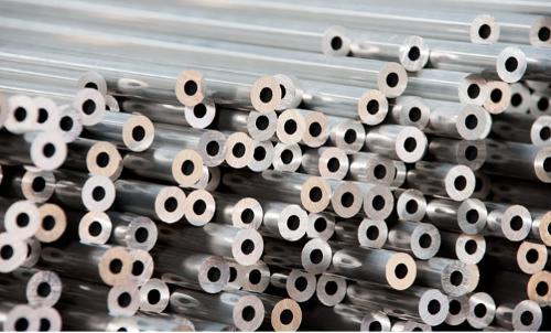 Tubes étirés en aluminium