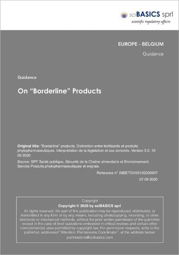 """On """"borderline"""" Products"""