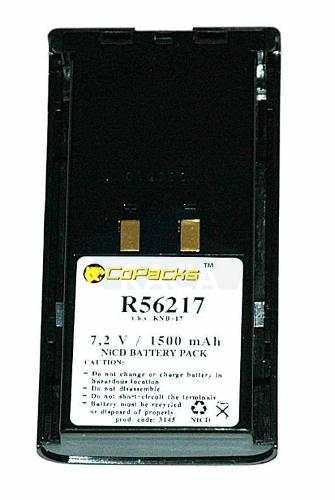 Replacement two-way radio battery for Kenwood TK280 / TK380