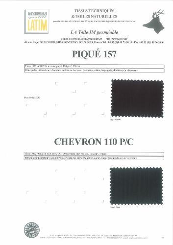 PIQUE 157 & CHEVRON 110 P/C