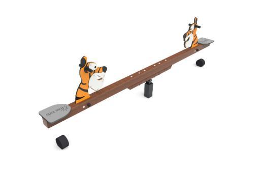Tiger seesaw