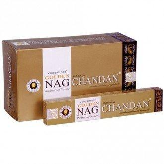 Golden Nag Incense and cones