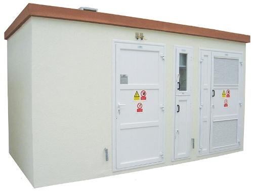 Compact transformer and connection prefabricated substations