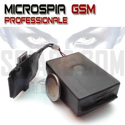 Microspie GSM per Automobili, ufficio e abitazioni