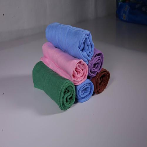 Dyed wiping cloth directly supplied by factory