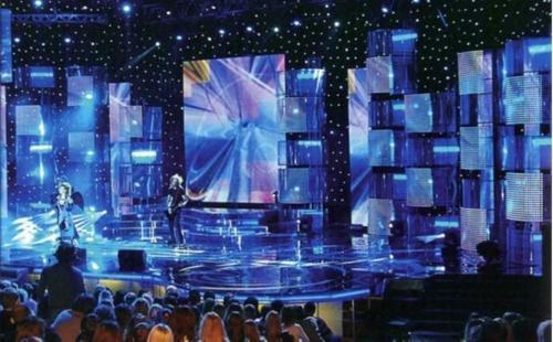 Οθόνες LED για εσωτερικές περιοχές συναυλιών