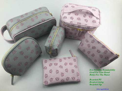 recycled PU pouch collection