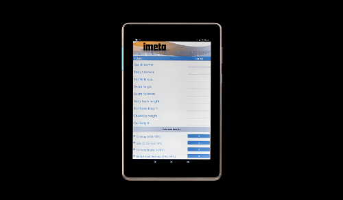 Tablet Controllo Aggraffatura (codice Imeta Ap4097)